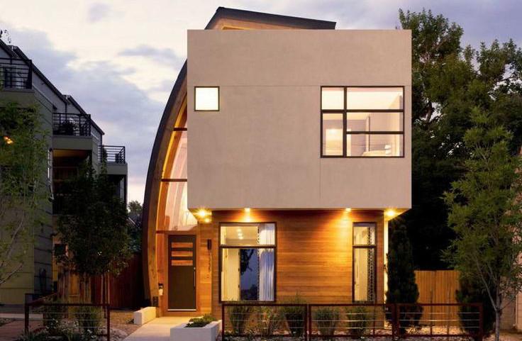 Modern prefab home characteristics