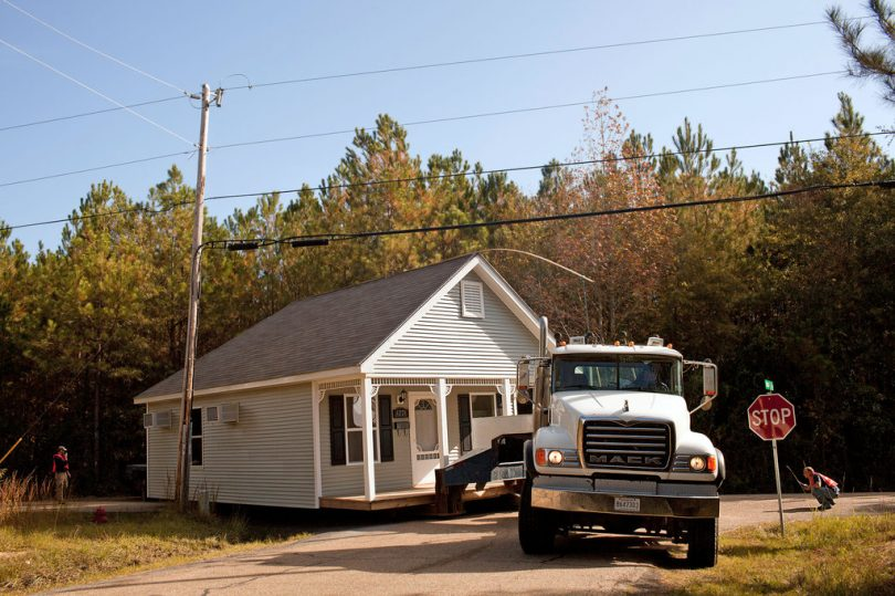 Moving a used mobile home