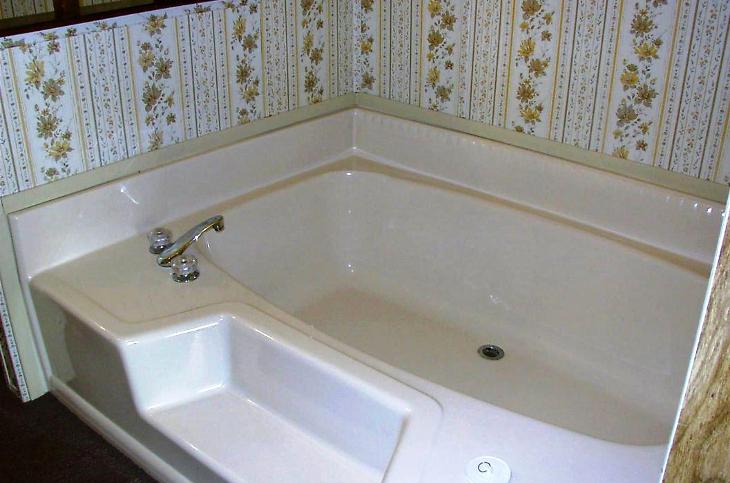 New garden bathtub