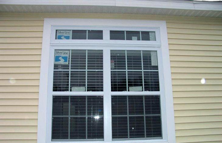 Newly replaced window