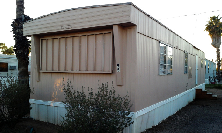 Repair of mobile home completed