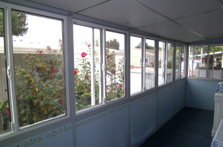 Sliding glass windows