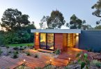 Small modern prefabricated home