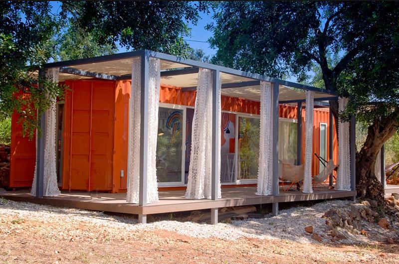 Studio type container home