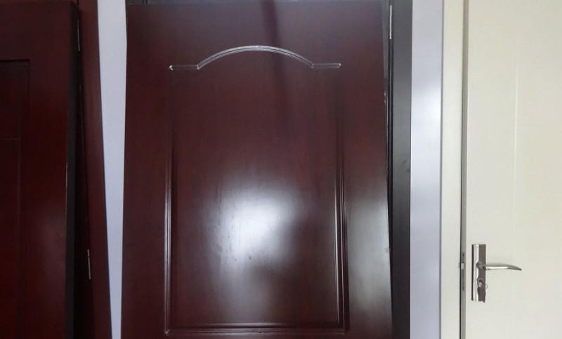 Wood finish pvc door