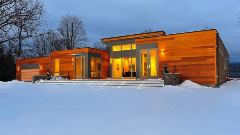 Ambient lighting inside modular home