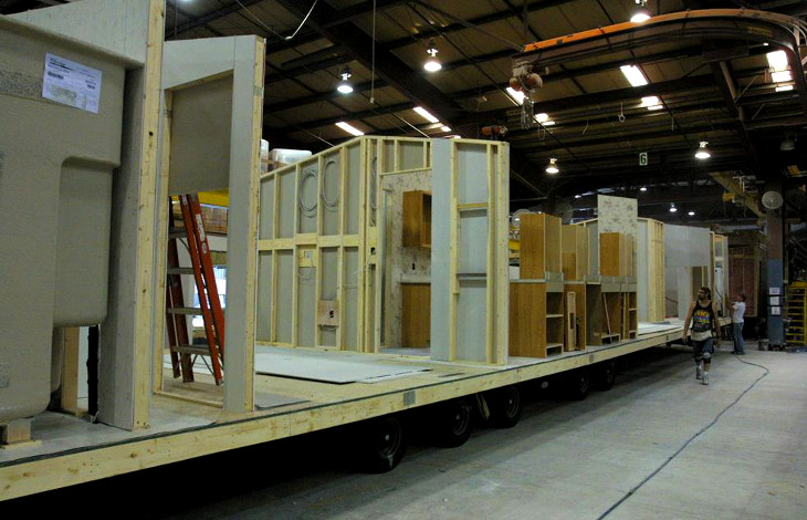 Construction of mobile homes