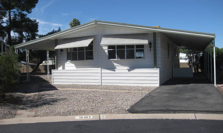 Double wide home listing