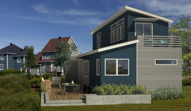 Eco-friendly modular home