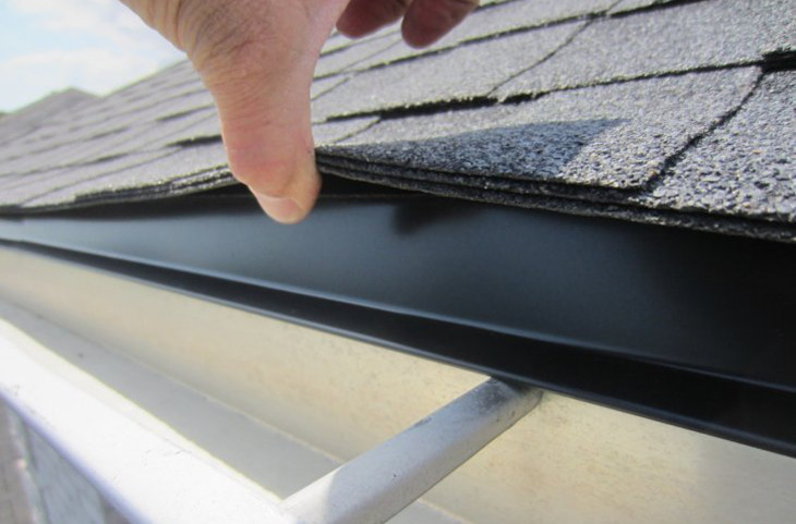 Finding roof leak