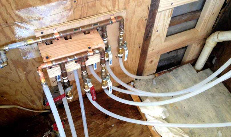 Home plumbing main valves