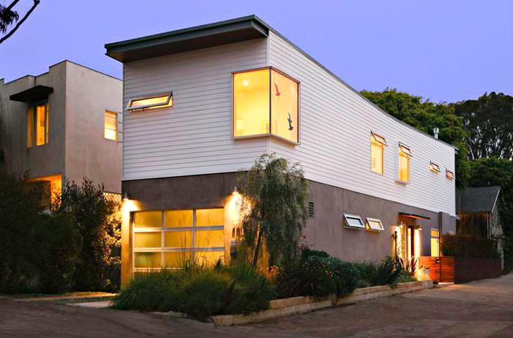 Modern two story modular home
