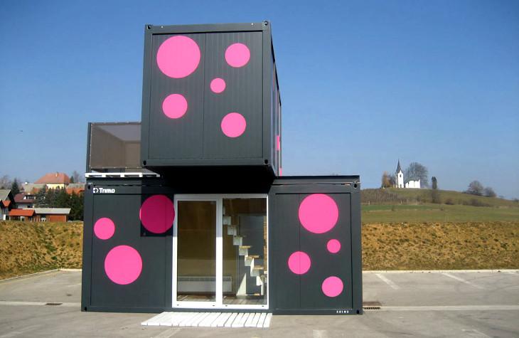 Modular con house