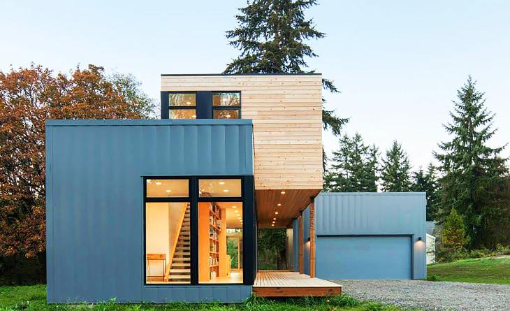 Modular home using solar energy