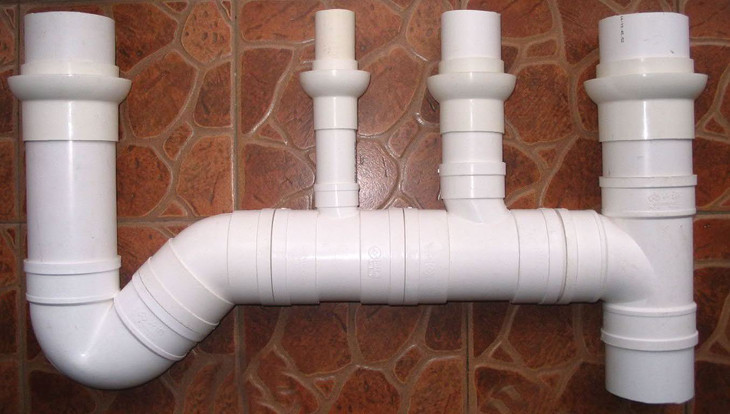 PVC piping to be installed