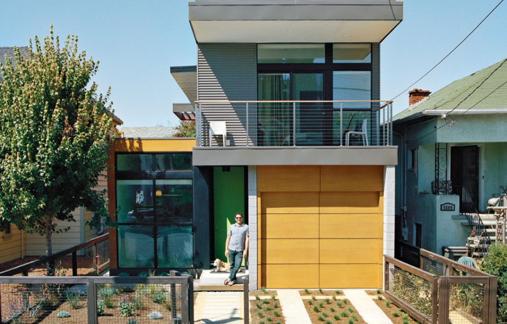Small two story modular home