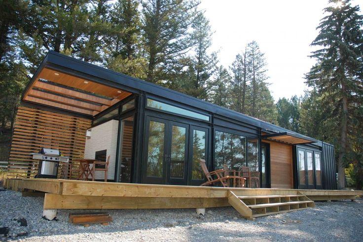 Tiny modern modular house