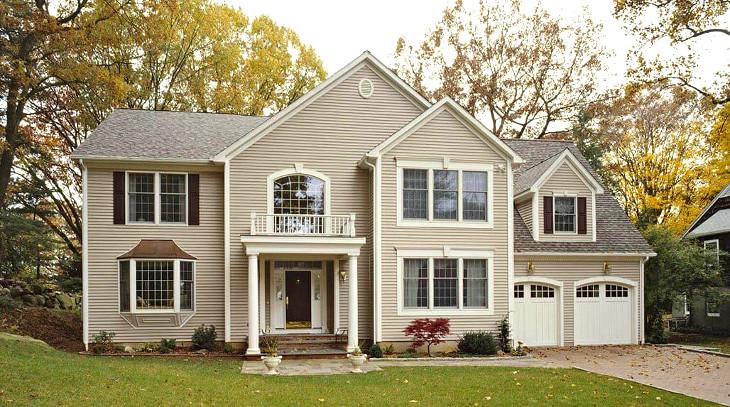Two story home regular design