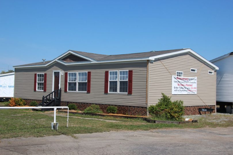 Installation warranty of mobile homes