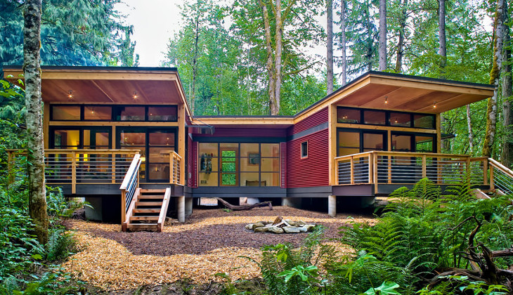 Concept modular house by Method Homes