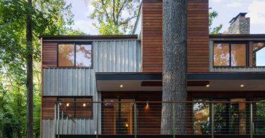 Cool modern modular home