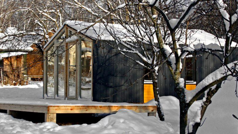 DIY tiny mobile home