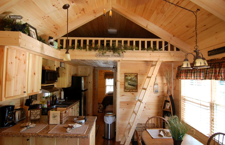 Lofty mobile home living