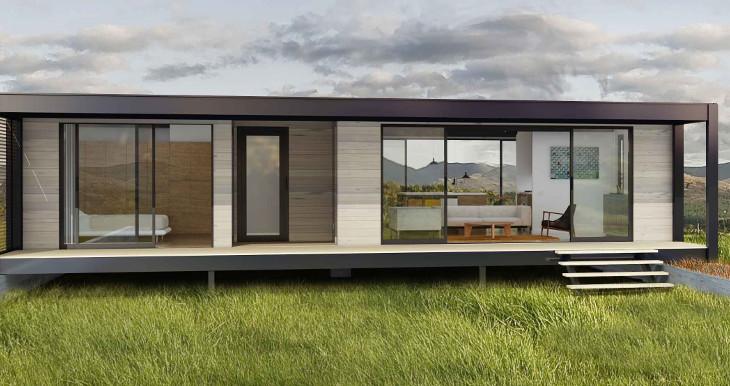 Minimalist modular home