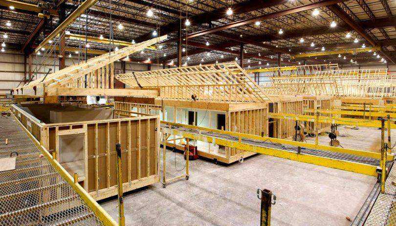 Modular home builder factory