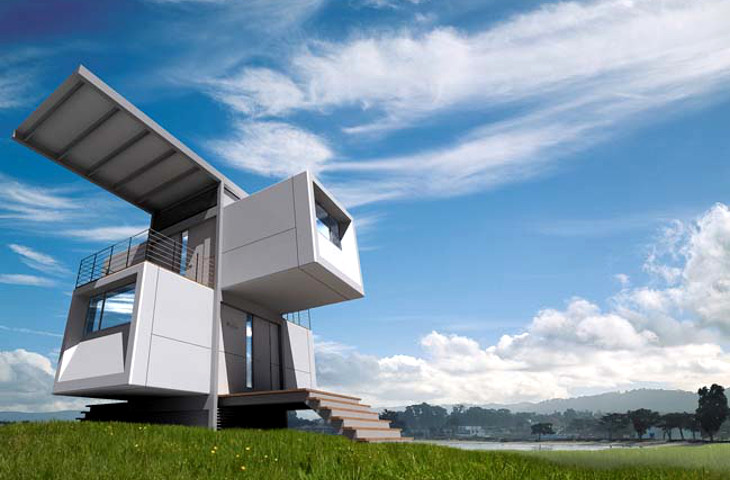 Specht Architects modular house concept