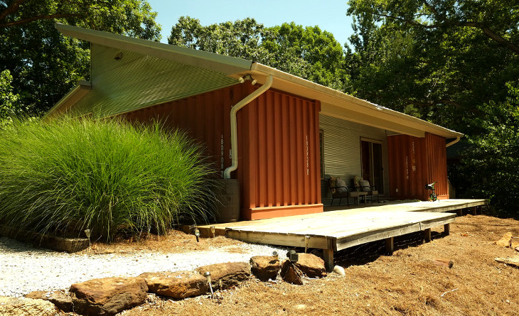 Affordable shipping container housing