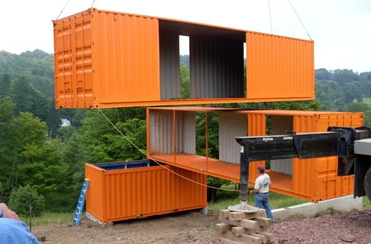 Building a container home