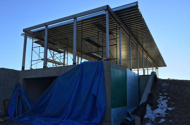 Construction of rigid frame home