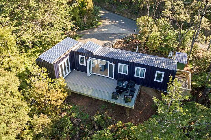 Container home land property