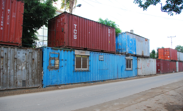 Container homes in Cuba