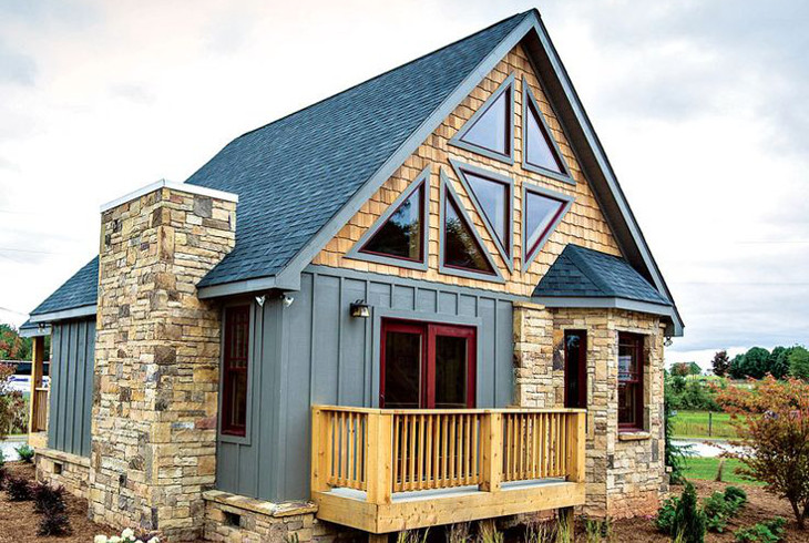 Cottage style small modular house