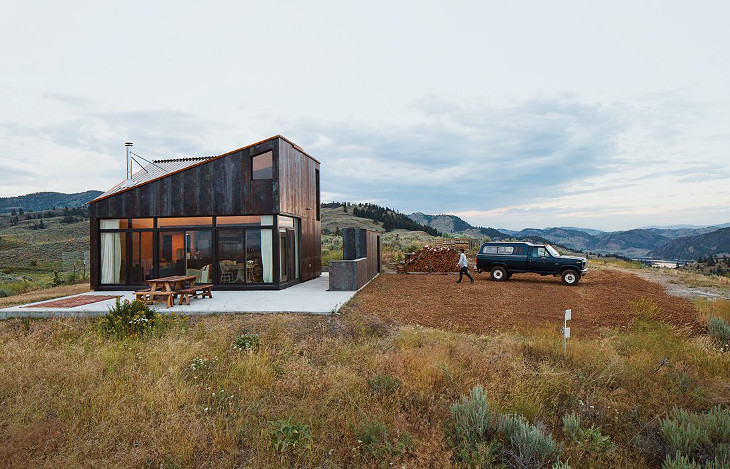 Finding off-grid housing location