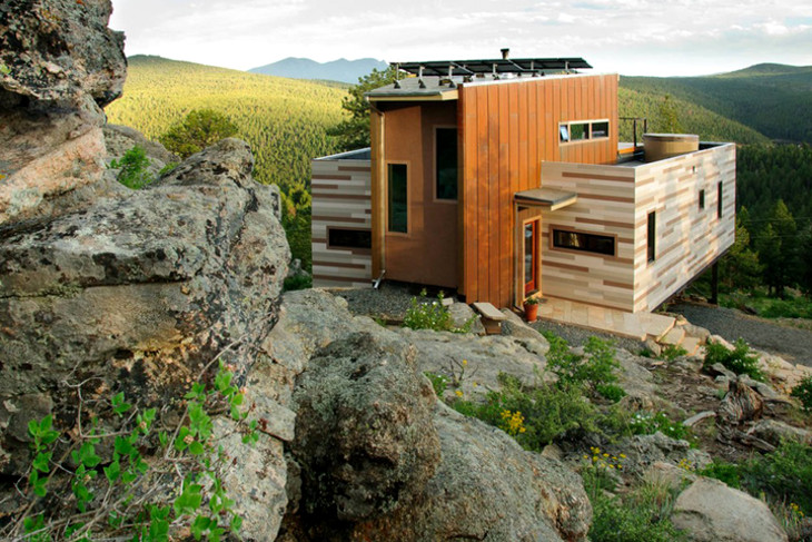 Great location of container home