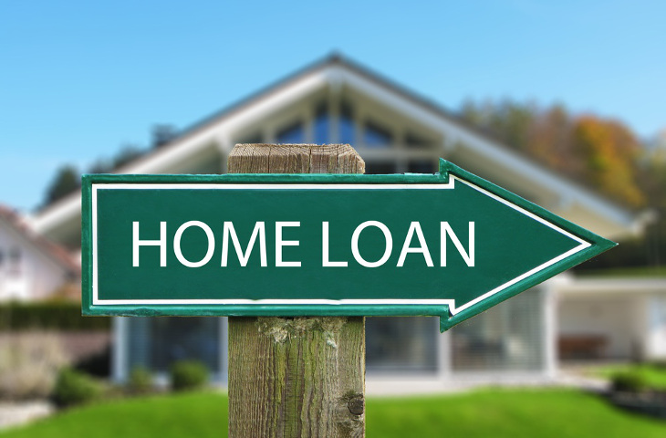 Home financing loan sign