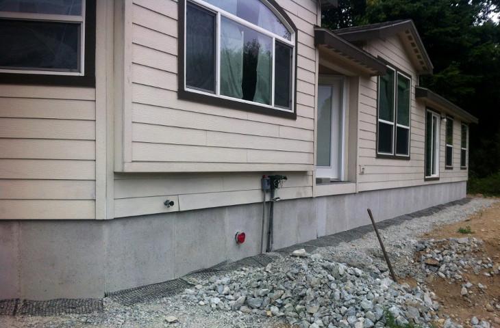 Installing home skirting
