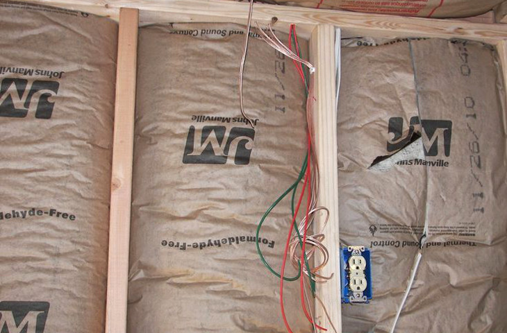 Insulating a container home