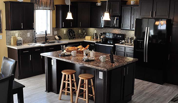 Kitchen of modular house