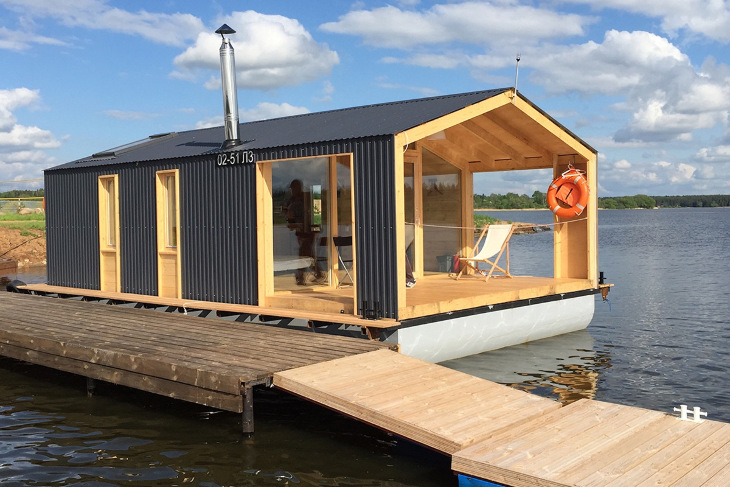 Lakeside small modular home