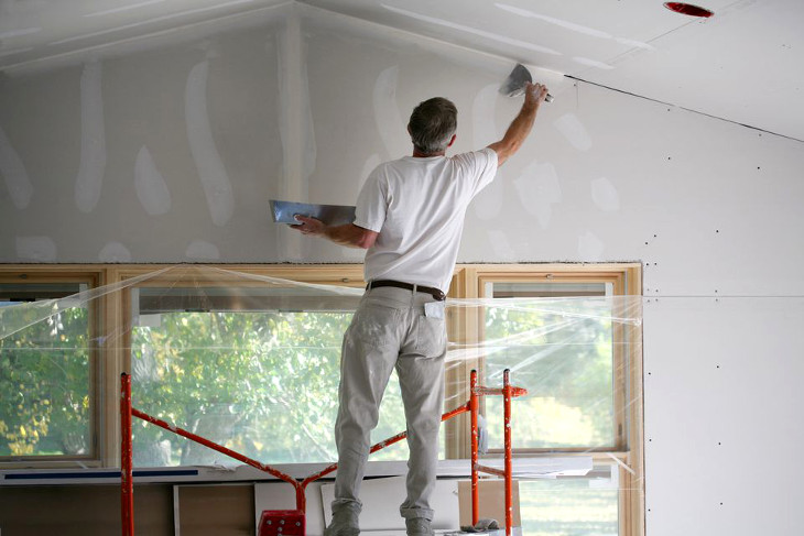 Low dust drywall