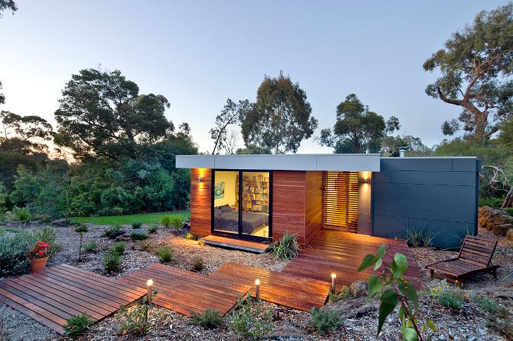 Modular home energy saving lights