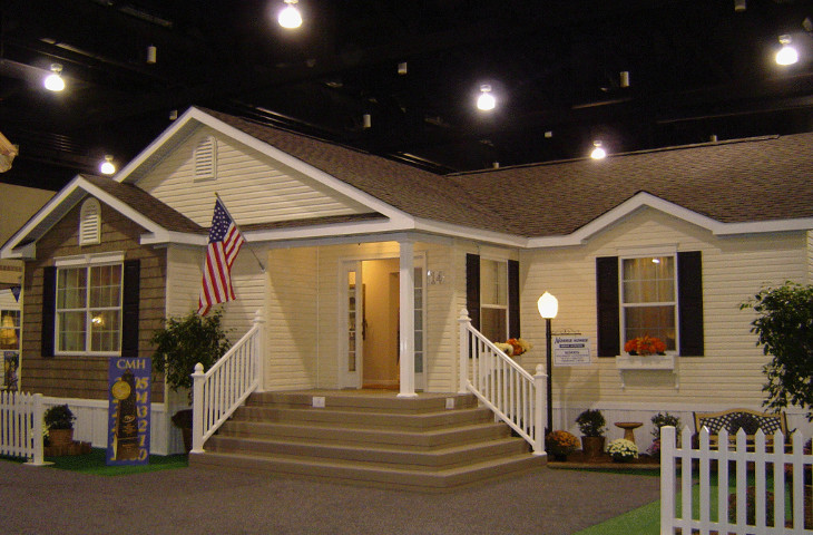 Multi-section modular home model