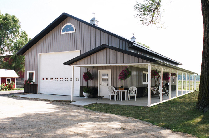 Pole Barn Prefab Metal Home
