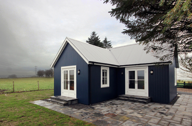 Single-level small modular home