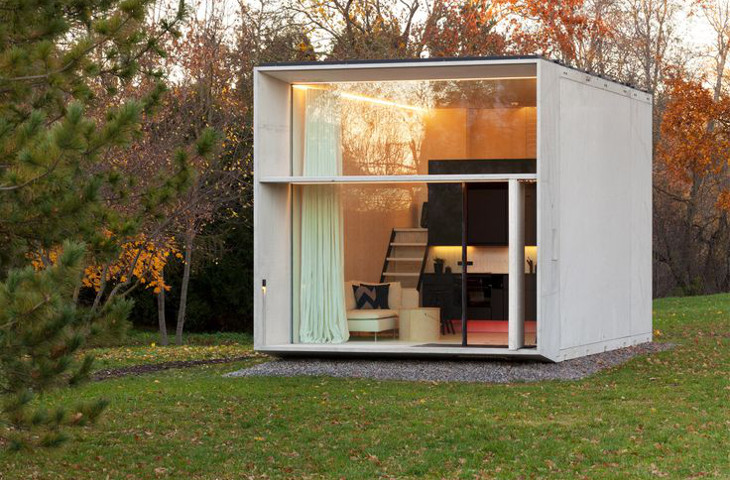 Small box-type modular home