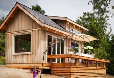 Small modular cabin home